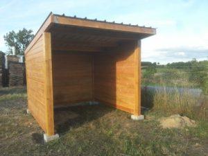 Abri de jardin Scierie du Comptoir des Bois de Tronçais